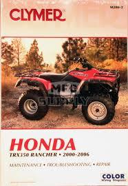 cm200 00 06 honda trx350 rancher all models repair maintenance cm200 00 06 honda trx350 rancher all models repair maintenance manual