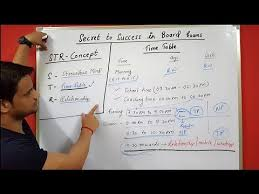 Students Daily Routine Time Table And Basic Guidelines For Board Exam Students In Hindi