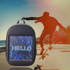 <b>LED</b> Advertising Light <b>Led</b> Display Backpack <b>Smart</b> WIFI Version ...