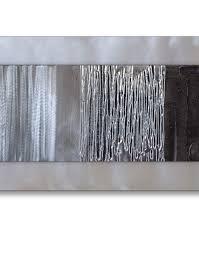 black and silver wall art uk