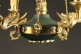 antique french chandelier empire basket style 2