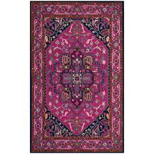 safavieh bellagio pink navy 6 ft x 9 ft area rug