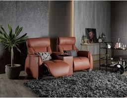 sho motorised leather recliner sofa