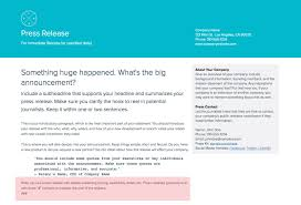 How To Write A Press Release A Step By Step Guide Xtensio