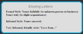closing letters 350