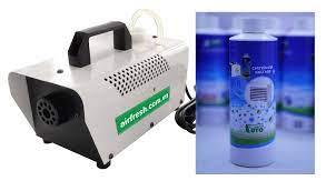 Máy xông khói diệt khuẩn khử mùi khử trùng cho Ô tô và Nhà Cửa AUTO AIR  FRESH kèm chai dung dịch 250ml