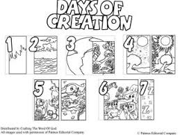 creation coloring sheet creation coloring sheet days of creation coloring pages crafting the