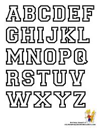 Free Alphabet Letter Print Out College Alphabet Coloring