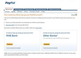 For actually using your paypal account you need to register your bank account. 10 Most Asked Questions About Paypal Hongkiat