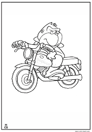 Motorcycle Coloring Pages 03