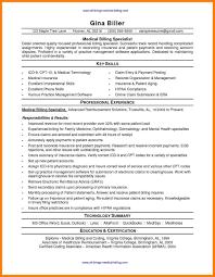 Medical Billing And Coding Resume Sample Medical Billing And Coding Resumes Sample Travel Bill Within Resume 3