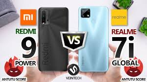 Redmi 9 Power VS Realme 7i Global ...