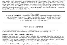Design Templates Business Analyst Resume Template Best Template