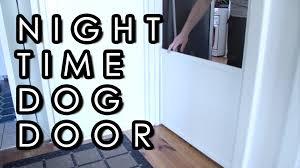 diy dog doors. How To Make An Internal Pet Door Diy Dog Doors O