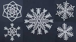 Snowflake Patterns Mesmerizing 48 Awesome Paper Snowflake Patterns For Christmas Decorations Easy