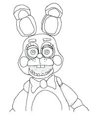 Coloring Sheets Pages 4 H Fnaf Funtime Foxy Colori Betterfor