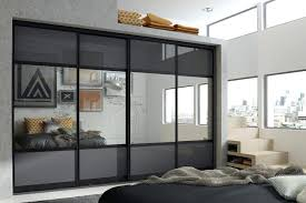 sliding wardrobe doors black anthracite glass and silver mirrored bedroom wardrobe doors sliding wardrobe doors sliding wardrobe doors