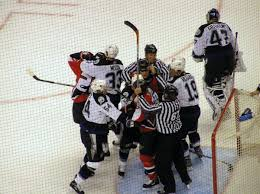 violence in ice hockey