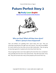 Printable Short Story And Worksheets To Practice The English Ideas