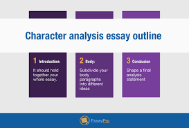 character analysis essay structure example essaypro character analysis essay outline