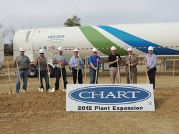 Chart Inc New Prague Mn Ground Breaking Ceremony At Chart Inc