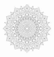 Mandala Kleurplaat Hartjes Beste Mandala Kleurplaten Met Hartjes