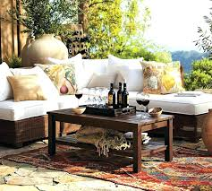 new pottery barn outdoor rug pottery barn deck furniture outdoor table reviews with regard to patio