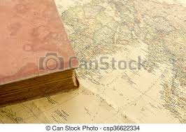 old book on vine map csp36622334