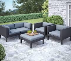 masterly elysian piece patio conversation set loveseat sunbrella canvas patio conversation seating sets ultimate