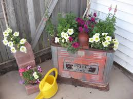 rustic junk for the garden on pinterest | Decorating With Junk Gives You  Some Of The