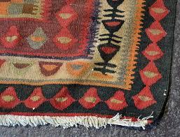 CARPET: HANDWOVEN PERSIAN FLAT WEAVE - Wool on a cotton warp &  Adamdwight.com