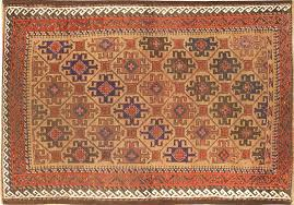 antique persian baluch tribe rug