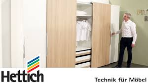 furniture technology. technology for furniture in bedrooms hettich sliding door drawer systems youtube