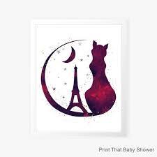Image result for paris cat graphic