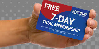 workout anytime free trial membership