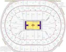 Verizon Center Seating Chart With Seat Numbers Curious Section Pr13 Staples Center La Kings Seating Chart