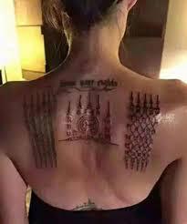 татуировки анджелины джоли значение и фото тату