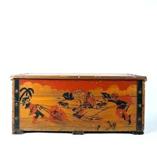 pirate storage chest vintage wooden pirates treasure chest toy box furniture pirate storage large wooden pirate