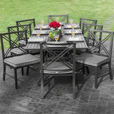 decorating lovely outdoor dining table for 10 29 8 person brilliant tables modern patio ideas furniture
