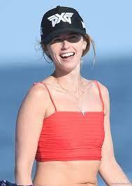 Katherine Schwarzenegger Paparazzi Bikini Beach Photos