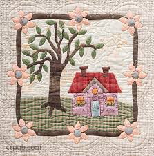 My Cozy Village | Felicia, Landscape quilts and House quilts & My Cozy Village Adamdwight.com