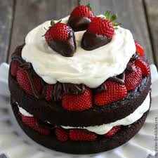 Gluten Free Chocolate Strawberry Cake Recipe