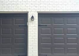 painted garage doors to downplay or to play up faux painted garage door windows