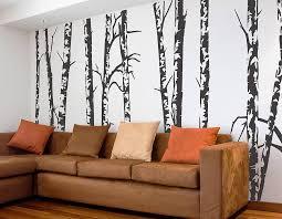 silver birch trees vinyl wall sticker silver birch trees vinyl wall sticker 1