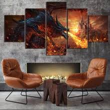 Buy <b>art</b> painting <b>fantasy</b> dragon and get free shipping on AliExpress ...