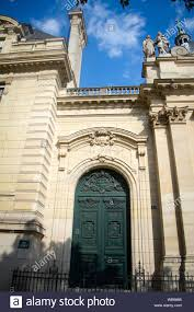 Ecole Nationale Des Chartes Paris France July 7 2018 Entrance To The National