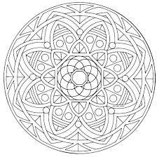 Mandala Semplici Da Colorare