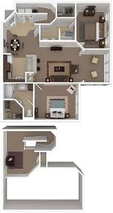 Apartments For Rent Near UF Gainesville  Bedroom   Bath - Loft apartment floor plans