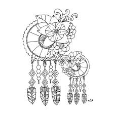 Books About Dream Catchers Instant Digital Download dream catcher coloring page by 55