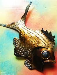 samantha striper metal fish wall decor whimsical series on whimsical metal fish wall art with whimsical wall pieces 2ndchancemetalart by boston sculptor eric